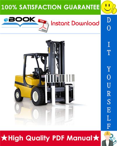 Thumbnail ☆☆ Best ☆☆ Yale GLP40VX5, GDP40VX5, GLP40VX6, GDP40VX6, GLP45VX6, GDP45VX6, GLP45SVX5, GDP45SVX5, GLP50VX, GDP50VX, GLP55VX, GDP55VX Europe (H813) Forklift Trucks Service R