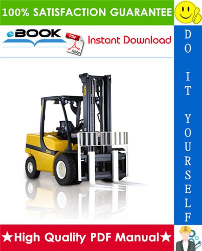 Thumbnail ☆☆ Best ☆☆ Yale GLP40VX5, GDP40VX5, GLP40VX6, GDP40VX6, GLP45VX6, GDP45VX6, GLP45SVX5, GDP45SVX5, GLP50VX, GDP50VX, GLP55VX, GDP55VX Europe (J813) Forklift Trucks Service R