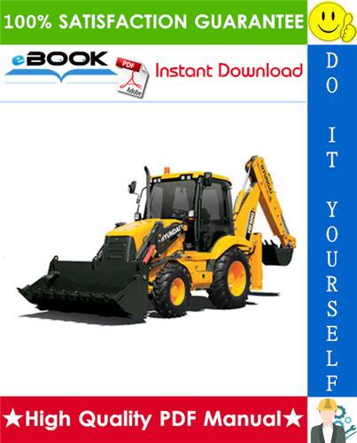 Download Backhoe Hb100 Hyundai Manual  Repair Manual