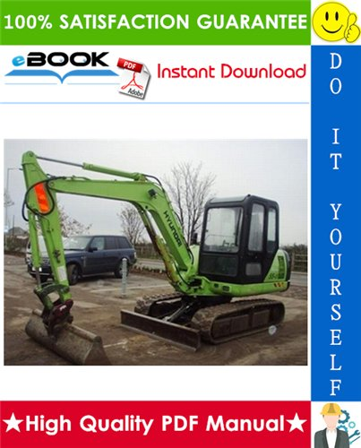 Thumbnail ☆☆ Best ☆☆ Hyundai R55-3 Crawler Excavator Service Repair Manual