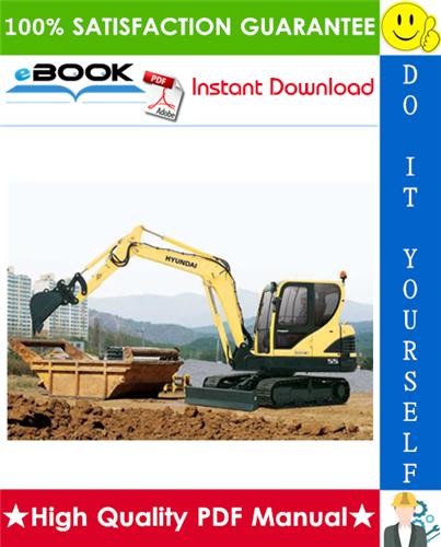 Thumbnail ☆☆ Best ☆☆ Hyundai R55-9 Crawler Excavator Service Repair Manual