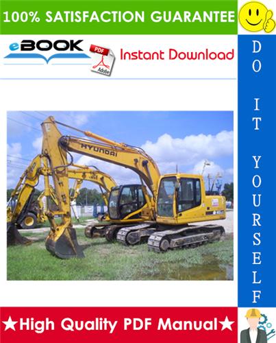 Thumbnail ☆☆ Best ☆☆ Hyundai R160LC-7 Crawler Excavator Service Repair Manual
