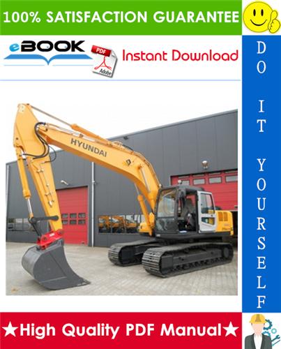 Thumbnail ☆☆ Best ☆☆ Hyundai R210NLC-7A Crawler Excavator Service Repair Manual