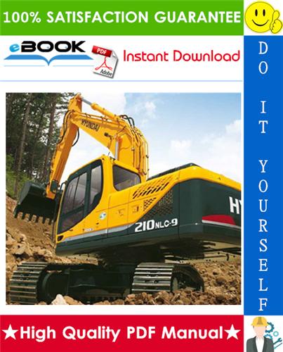 Thumbnail ☆☆ Best ☆☆ Hyundai R210NLC-9 Crawler Excavator Service Repair Manual