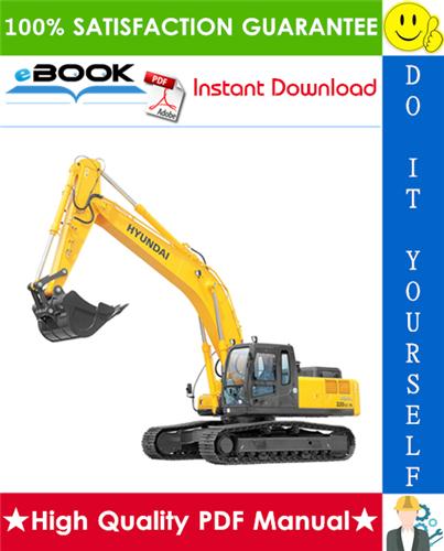 Thumbnail ☆☆ Best ☆☆ Hyundai R320LC-7 Crawler Excavator Service Repair Manual