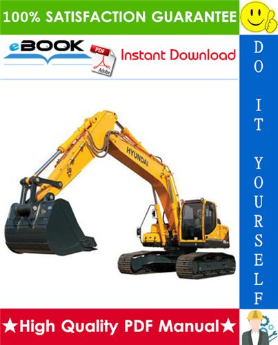Thumbnail ☆☆ Best ☆☆ Hyundai R1200-9 Crawler Excavator Service Repair Manual