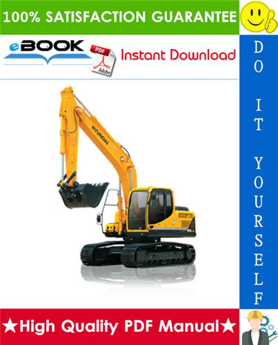 Thumbnail ☆☆ Best ☆☆ Hyundai R160LC-9, R180LC-9 Crawler Excavator Service Repair Manual