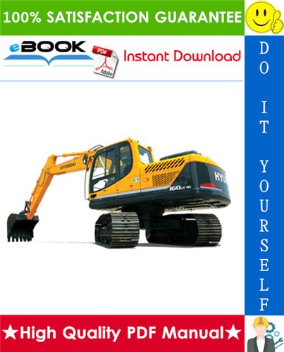 Thumbnail ☆☆ Best ☆☆ Hyundai R160LC-9S, R180LC-9S Crawler Excavator Service Repair Manual