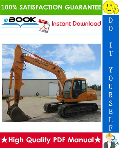 Thumbnail ☆☆ Best ☆☆ Hyundai R130LC-3 Crawler Excavator Service Repair Manual