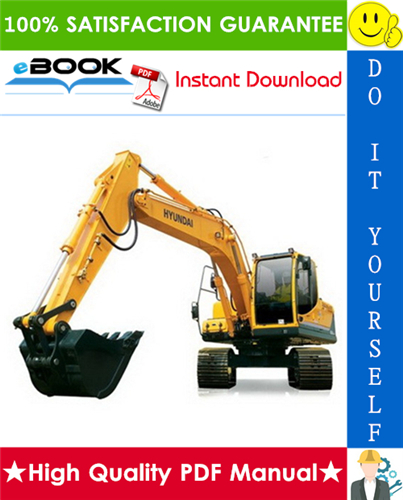 Thumbnail ☆☆ Best ☆☆ Hyundai R160LC-3 Crawler Excavator Service Repair Manual