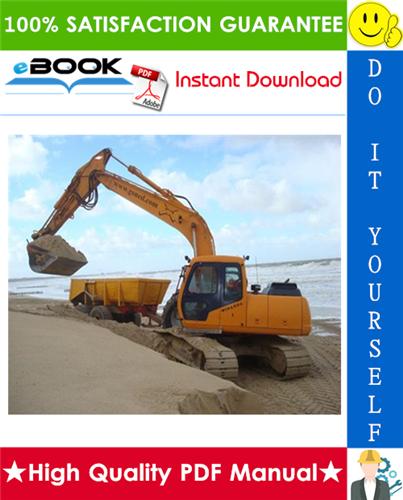 Thumbnail ☆☆ Best ☆☆ Hyundai R180LC-3 Crawler Excavator Service Repair Manual
