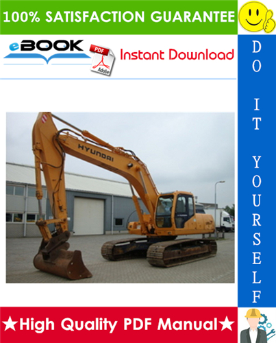 Thumbnail ☆☆ Best ☆☆ Hyundai R250LC-3 Crawler Excavator Service Repair Manual