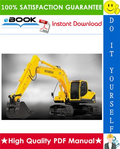 Thumbnail ☆☆ Best ☆☆ Hyundai R290LC-3 Crawler Excavator Service Repair Manual