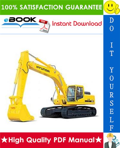 Thumbnail ☆☆ Best ☆☆ Hyundai R320LC-3 Crawler Excavator Service Repair Manual