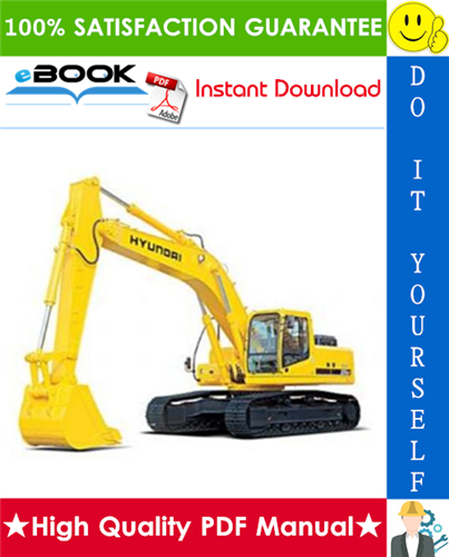 Thumbnail ☆☆ Best ☆☆ Hyundai R360LC-3 Crawler Excavator Service Repair Manual