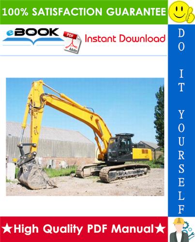 Thumbnail ☆☆ Best ☆☆ Hyundai R450LC-3 Crawler Excavator Service Repair Manual