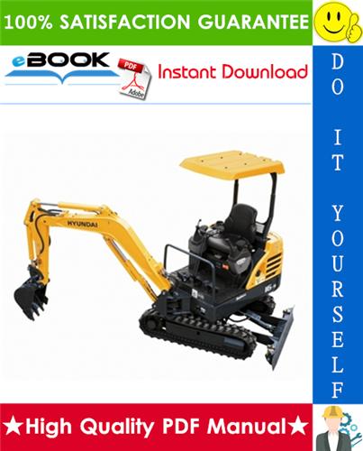 Thumbnail ☆☆ Best ☆☆ Hyundai R16-9 Mini Crawler Excavator Service Repair Manual