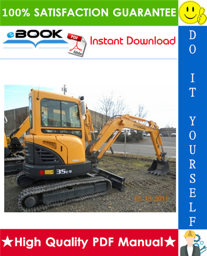 Thumbnail ☆☆ Best ☆☆ Hyundai R35Z-9 Mini Crawler Excavator Service Repair Manual