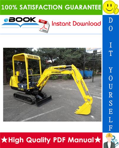 Thumbnail ☆☆ Best ☆☆ Hyundai Robex 16-7, R16-7 Mini Excavator Service Repair Manual