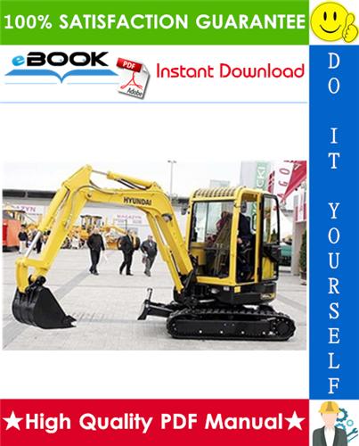 Thumbnail ☆☆ Best ☆☆ Hyundai Robex 36N-7, R36N-7 Mini Excavator Service Repair Manual