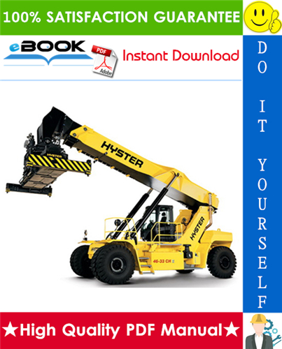 Thumbnail ☆☆ Best ☆☆ Hyster R45-27IH, RS45-30CH, RS46-30IH, RS46-33CH, RS46-33IH, RS46-36CH (A222) Reach Stacker Parts Manual