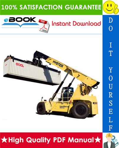 Thumbnail ☆☆ Best ☆☆ Hyster HR45-25, HR45-31, HR45-36L, HR45-40LS, HR45-40S (A227) Yardmaster Diesel Container Handler Parts Manual