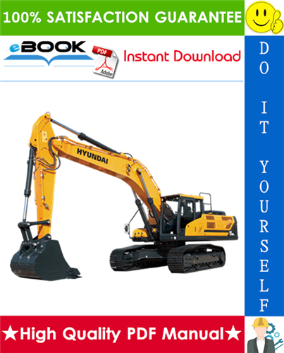 Thumbnail ☆☆ Best ☆☆ Hyundai HX330L Crawler Excavator Service Repair Manual