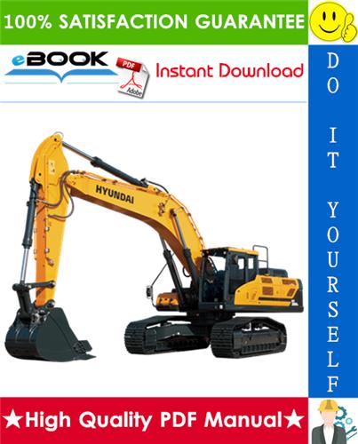 Thumbnail ☆☆ Best ☆☆ Hyundai HX380L Crawler Excavator Service Repair Manual