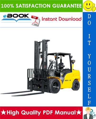 Thumbnail ☆☆ Best ☆☆ Hyundai 35D-9A, 40D-9A, 45D-9A, 50DA-9A Forklift Trucks Service Repair Manual