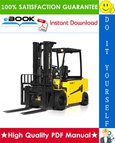 Thumbnail ☆☆ Best ☆☆ Hyundai 40B-9, 45B-9, 50B-9 Forklift Trucks Service Repair Manual