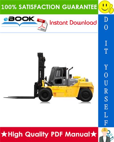 Thumbnail ☆☆ Best ☆☆ Hyundai 110D-7A, 130D-7A, 160D-7A Forklift Trucks Service Repair Manual