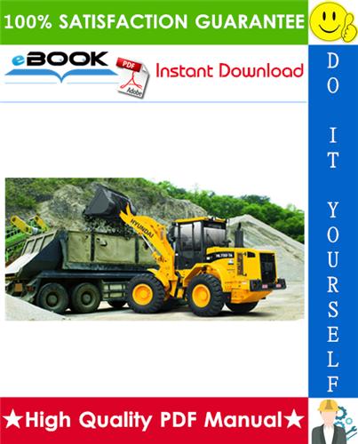 Thumbnail ☆☆ Best ☆☆ Hyundai HL730-7A, HL730TM-7A Wheel Loader Service Repair Manual