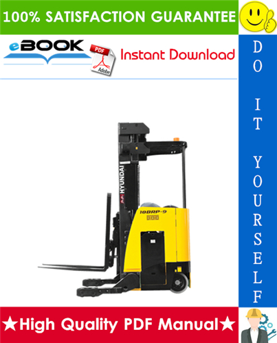 Thumbnail ☆☆ Best ☆☆ Hyundai 15BRP-9, 18BRP-9, 20BRP-9, 23BRP-9 Forklift Trucks Service Repair Manual