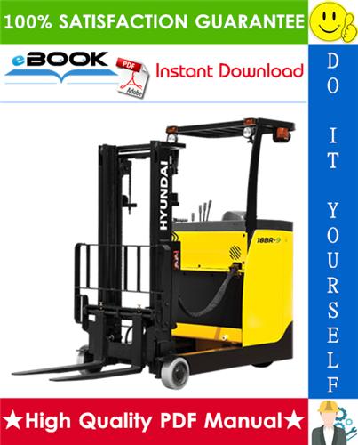 Thumbnail ☆☆ Best ☆☆ Hyundai 15BR-9E Series Forklift Truck Service Repair Manual