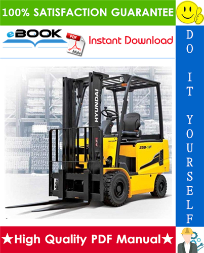 Thumbnail ☆☆ Best ☆☆ Hyundai 22B-9F, 25B-9F, 30B-9F Forklift Trucks Service Repair Manual