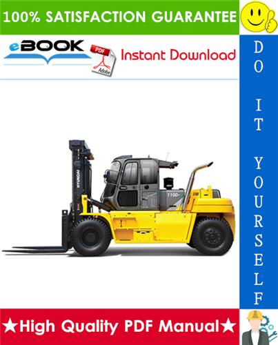 Thumbnail ☆☆ Best ☆☆ Hyundai 110D-9, 130D-9, 160D-9 Forklift Trucks Service Repair Manual