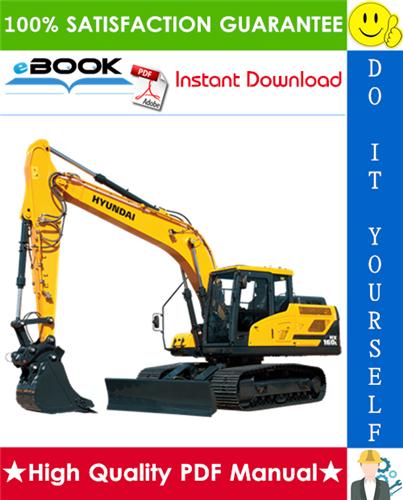 Thumbnail ☆☆ Best ☆☆ Hyundai HX160L, HX180L Crawler Excavator Service Repair Manual