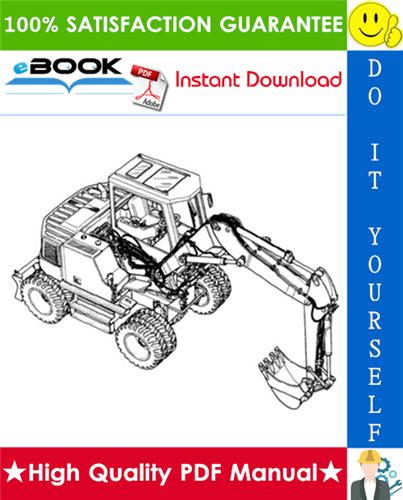 Thumbnail ☆☆ Best ☆☆ Liebherr A912 Litronic (Standard + Speeder) Hydraulic Excavator Operation & Maintenance Manual (Serial No. 101 - 2000)