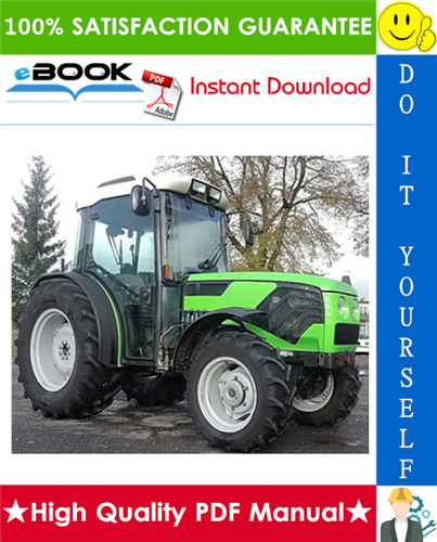 Thumbnail ☆☆ Best ☆☆ Deutz-Fahr Agrocompact F60, 70F3, 70F4, F80, F90 Tractors Service Repair Manual