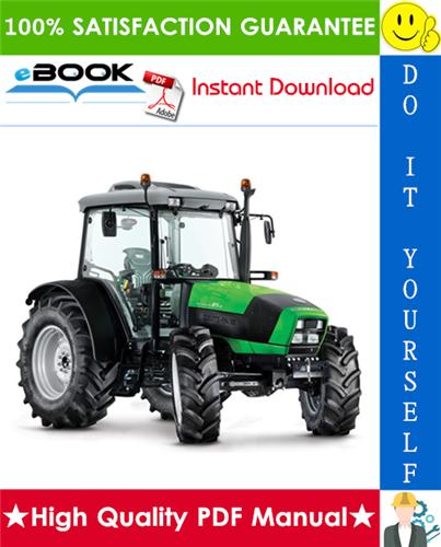 Thumbnail ☆☆ Best ☆☆ Deutz-Fahr Agrofarm 85, Agrofarm 100 Tractor Service Repair Manual