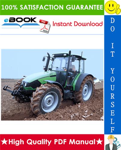 Download Deutz Fahr Agroplus 75 85 95 100 Tractor