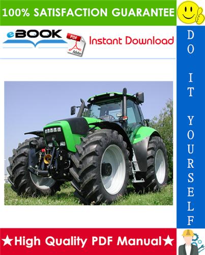 Thumbnail ☆☆ Best ☆☆ Deutz-Fahr Agrotron 215, 265 Tractor Service Repair Manual