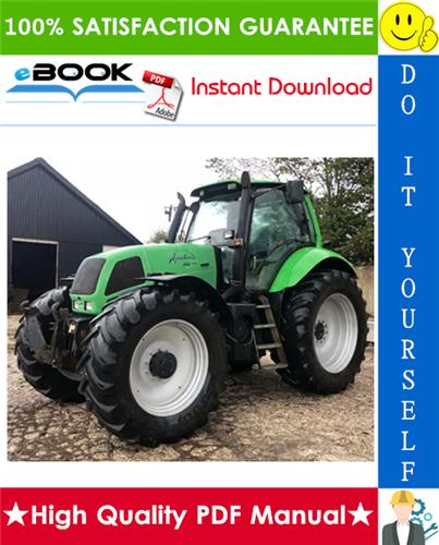 Thumbnail ☆☆ Best ☆☆ Deutz-Fahr Agrotron 230 MK3, 260 MK3 Tractor Service Repair Manual