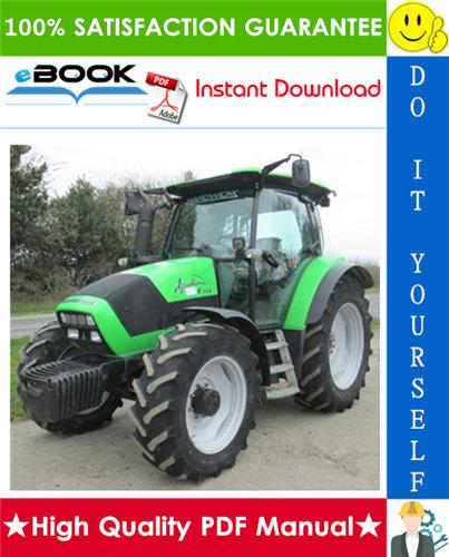 Thumbnail ☆☆ Best ☆☆ Deutz-Fahr Agrotron K90, K100, K110, K120 Profiline Tractor Service Repair Manual
