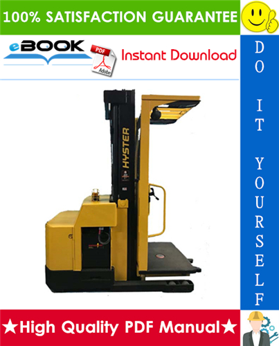 Thumbnail ☆☆ Best ☆☆ Hyster R30ES (B174) Electric Reach Truck Parts Manual