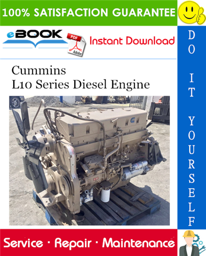 Thumbnail ☆☆ Best ☆☆ Cummins L10 Series Diesel Engine Service Repair Manual