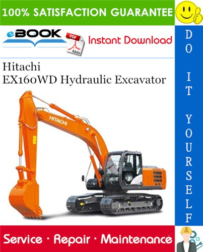 Thumbnail ☆☆ Best ☆☆ Hitachi EX160WD Hydraulic Excavator Service Repair Manual