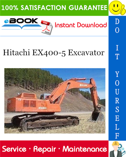Thumbnail ☆☆ Best ☆☆ Hitachi EX400-5 Excavator Service Repair Manual