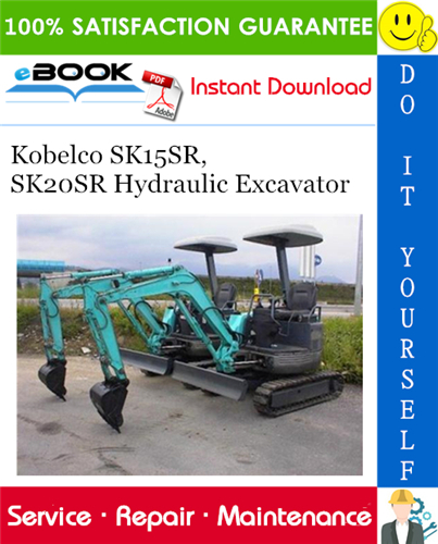 Thumbnail ☆☆ Best ☆☆ Kobelco SK15SR, SK20SR Hydraulic Excavator Service Repair Manual