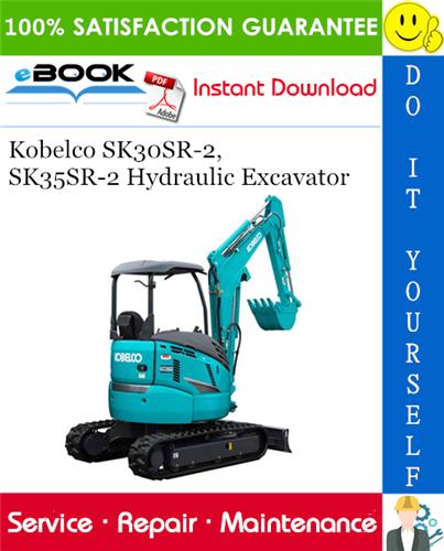 Thumbnail ☆☆ Best ☆☆ Kobelco SK30SR-2, SK35SR-2 Hydraulic Excavator Service Repair Manual